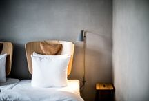 Hotel bedrooms / Inspiration for interior projects