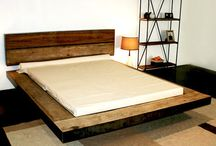 RECLAIMED WOOD, BED