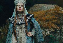 Russian-01 Fashion Русская мода
