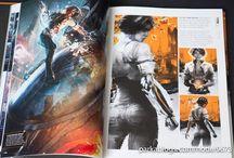 Art books references & design