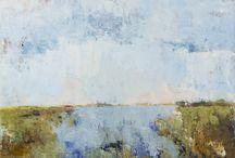 Kunst / Olieverf schilderijen van Annemiki Bok