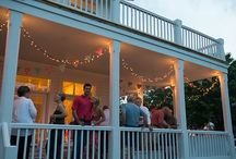 Porch Party / This is how we throw a porch party at Gorham's Bluff