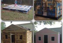 pallet playhouse diy