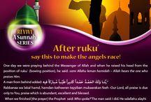 Revive a Sunnah series / Islam