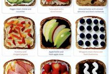 No Heat Healthy Lunches / No heat lunch ideas for work.