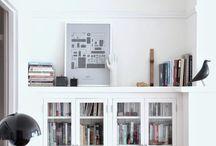 Home library / Kirjastohuone