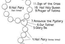 How to pray ,! I'm  catholic be kind / Rosary Latin  / by Gloria Villaluz