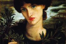 Art : Pre-Raphaelites' Muses