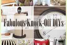 DIY Knock-Offs
