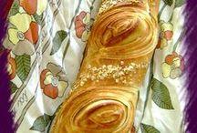 ψωμί, κρουασάν,μπισκότα...κουλουρακια