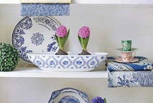 Kék-fehér tárgyak