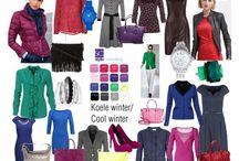 Barvy - zima chladná (cool, cold)