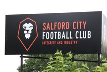 Proud Sponsors Of SCFC / We're very, very proud to be sponsors of Salford City FC - Go the Ammies!