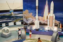 Exposition les télécoms spatiales