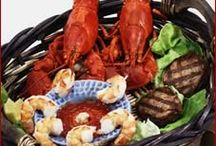 Fishing For Food- Fish and Shellfish Recipes / Fish and Shellfish Recipes, Seafood, fish filets, salmon recipes, sushi, lobster, shrimp, scallops, and more!