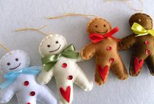 Snowmen & Gingerbread People / My all time favorites for winter & Christmas decorating are all kinds of snowmen & gingerbread people. They're so adorable,sweet & put smiles on everyone's faces!