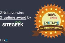 Awards and Certifications / Laurels earned by ZNetLIve