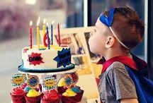 Sweet corner birthday
