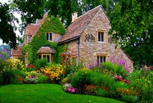Gorgeous houses, gardens and outside living spaces / Anything charming, whimsical or relaxing