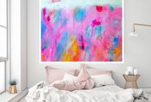Modern Square Large Abstract Painting Print Printable Instant download wall Art Home Decor