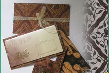 INVITATION / this is my product wedding card