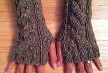 fingerless mittens