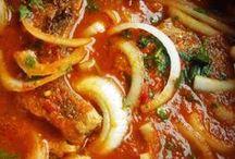 Chuletas de puerco en salsa