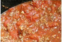 Sauces / Spaghetti