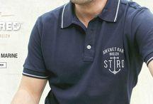 Modèles ANCRE / STERED met à l'honneur l'ancre marine sur ses t-shirts, polos et sweats. Symbolisant la mer et l'aventure, cet emblème évoque l'esprit breton.