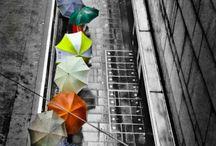 under the rain / la vita non è aspettare che passi la tempesta la vita è imparare a ballare  sotto la pioggia