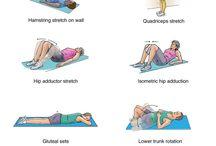 Sacroiliac Pain Rehabilitation Exercises