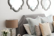 Above bed decor