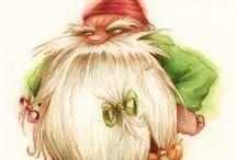 Skrzaty,elfy,fantazja (obrazy)