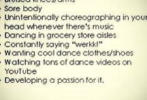 Dancing / Dancing is muñy passion i love and im in dance class so yeah