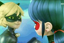 Miraculous Tales of Ladybug and Cat Noir / the 3D tv animation show and the anime(For my sister)