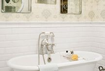 Antique tubs and fixtures