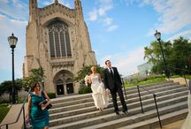 Rockefeller Chapel Wedding / Like our photos?  See more here: www.colinlyonsphotography.com