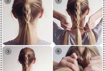Long hair - hair styles