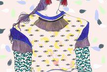 Illustration moda