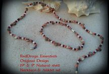 Matching Necklace & Anklet Sets / Matching Necklace & Anklet combo sets