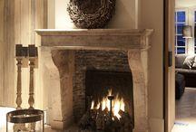 cheminée et feu de bois....