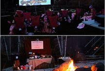 Backyard Movie Party