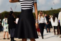 Wearing stripes / Love a stripe in fashion