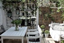 giardino shabby