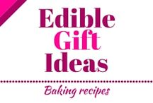 Edible Gift Ideas / Here you can find easy baking recipes. You can easily do it yourself, and everybody will love it. Maybe you can give it somebody as a gift