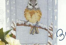 cross stitch kuslar