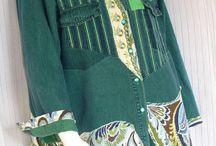 Одежда из лоскутиков