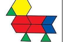 pattern blocks / by Carrie @ Crafty Moms Share