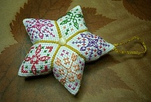 Cross stitch Ornaments / by Pinwheel Ponders