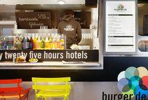 Burger de Ville / Burger de Ville - Den kultigen Airstream mit fünf leckeren Burgern gibt es in Wien, Hamburg und Berlin.